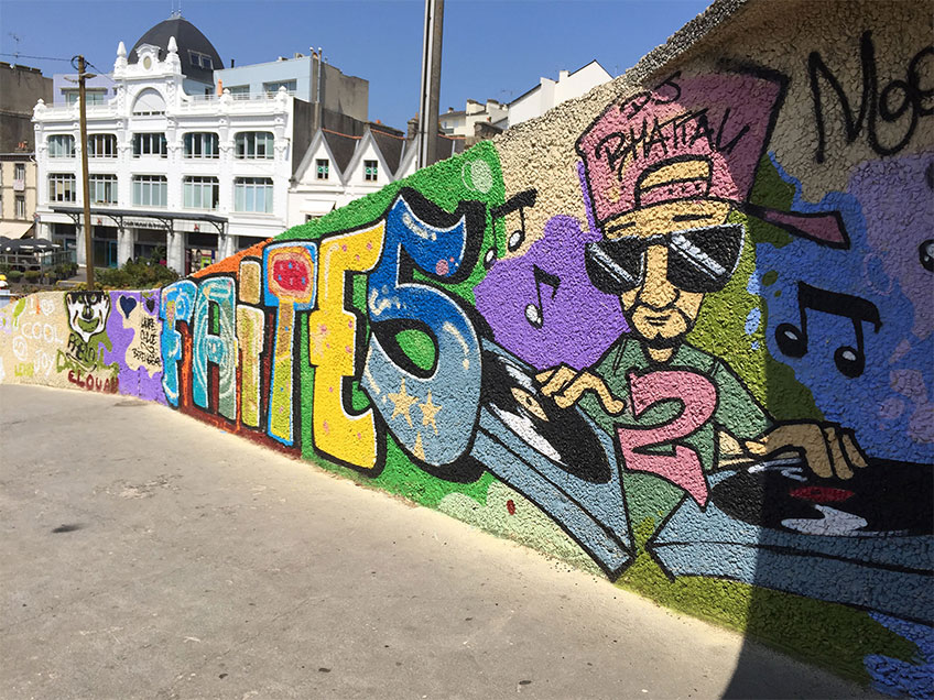 Street-Art à Saint-Brieuc
