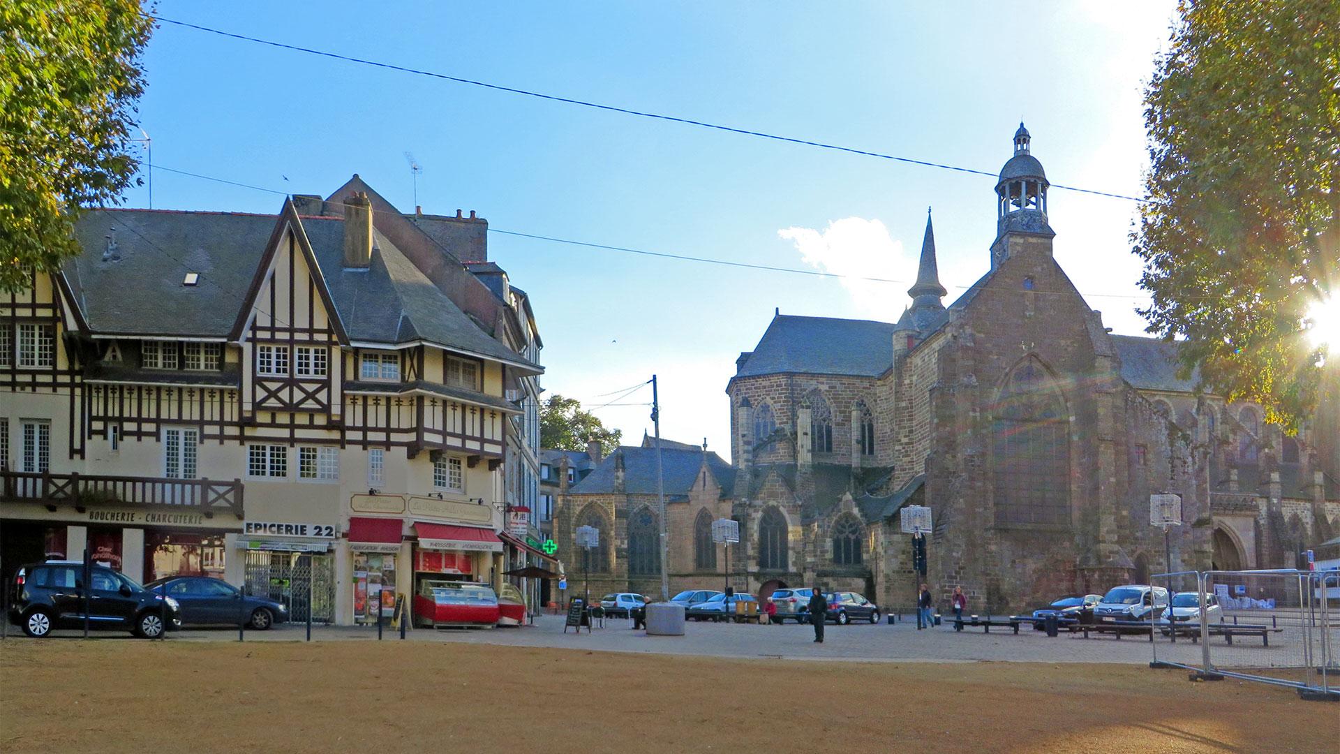 Saint Brieuc et ses vieux quartiers